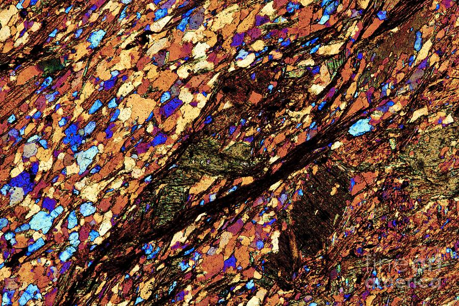 Lm Of Mica Schist Photograph