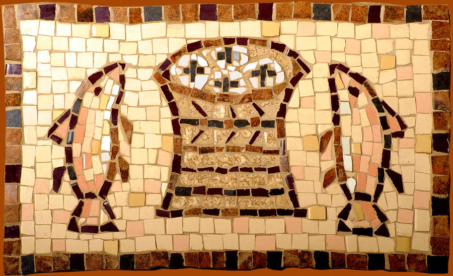 Loaves And Fishes Mosaic Photograph