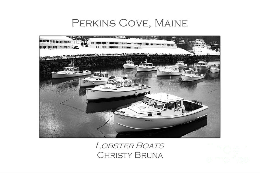 Lobster Boats Photograph  - Lobster Boats Fine Art Print