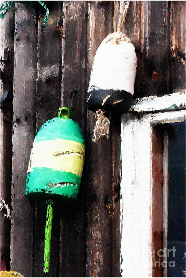 Lobster Buoys Photograph  - Lobster Buoys Fine Art Print