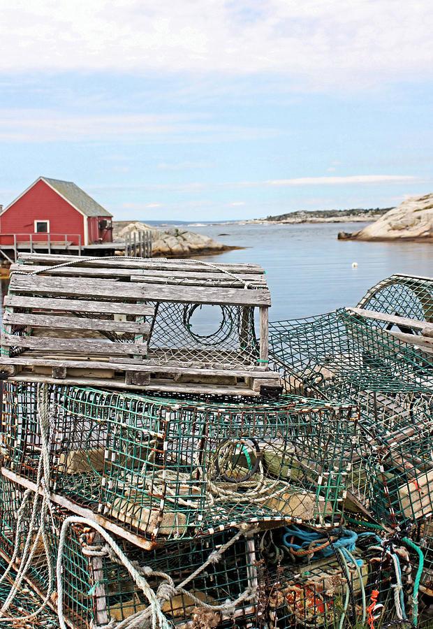 Lobster Pots Photograph