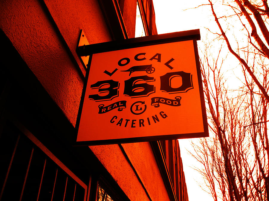 Local 360 In Orange Photograph