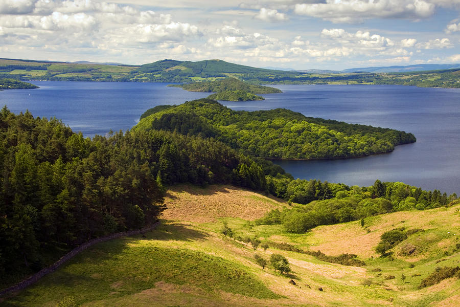 Loch Lomond From Conic Hill Photograph  - Loch Lomond From Conic Hill Fine Art Print