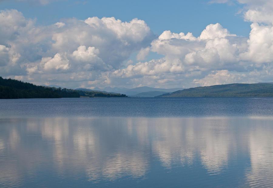 Loch Rannoch Clouds Photograph