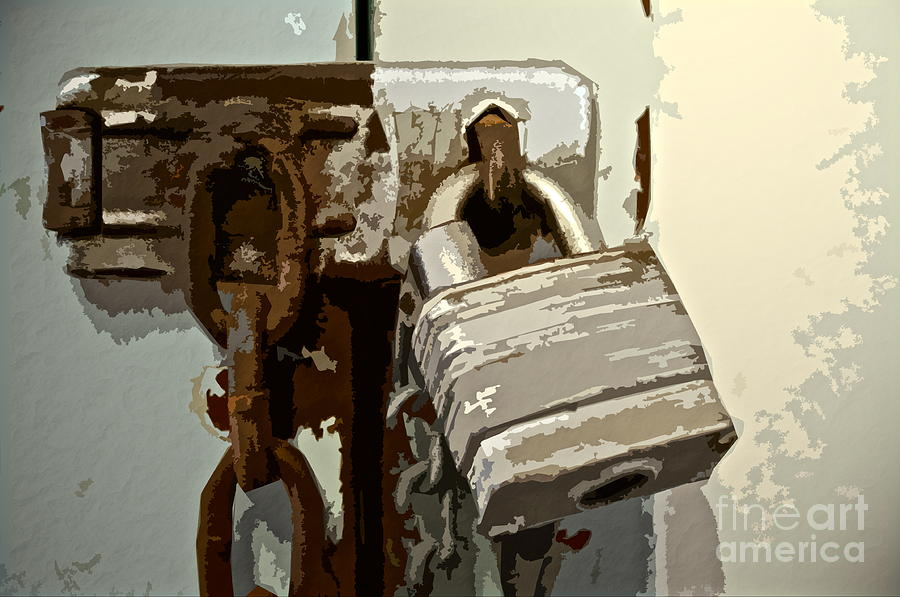 Lock And Chain Photograph