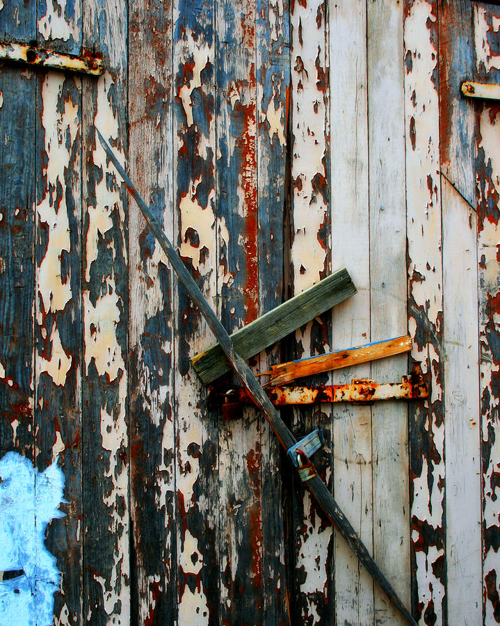 Locked Door Photograph  - Locked Door Fine Art Print