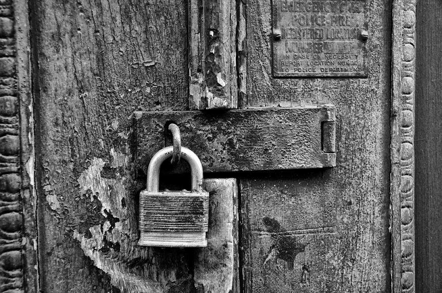 Locked Up is a photograph by Bill Cannon which was uploaded on ...