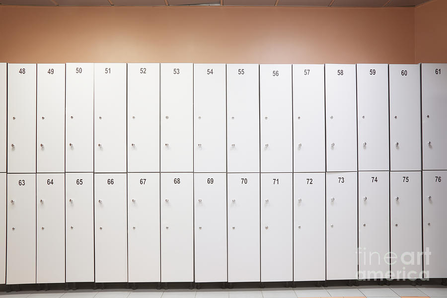 Lockers Photograph  - Lockers Fine Art Print