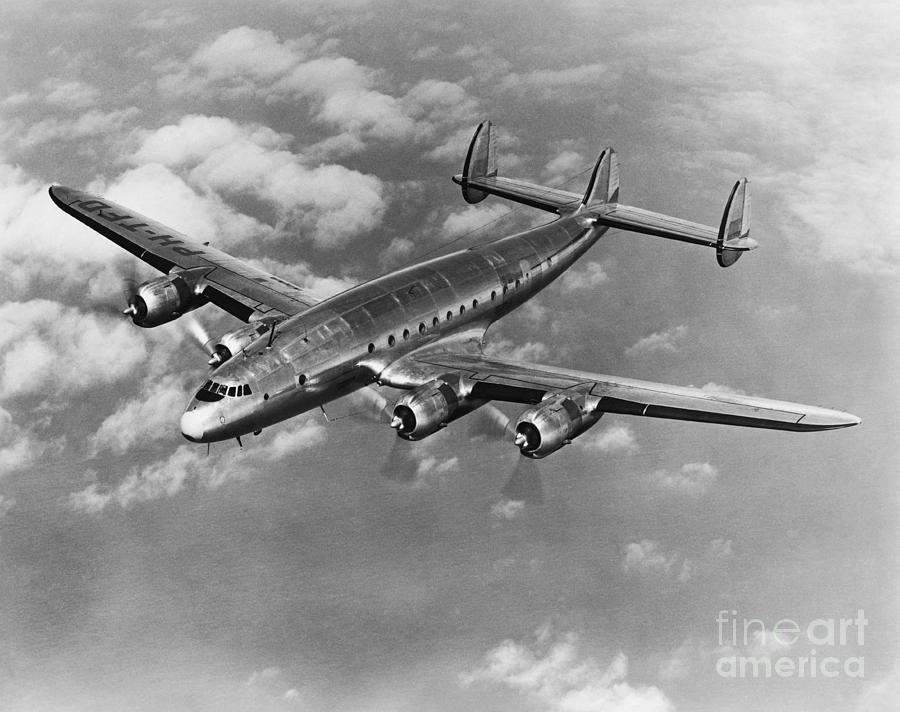 Lockheed Constellation Photograph