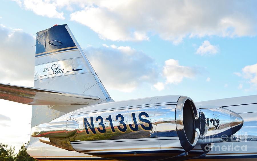 Lockheed Jet Star Photograph