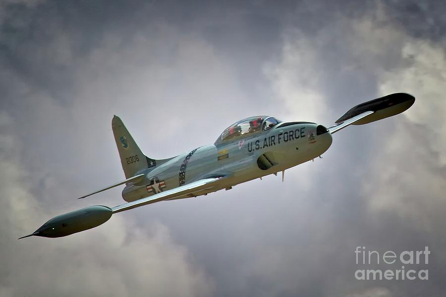 Lockheed P-80 Shooting Star 2011 Chino Air Show Photograph  - Lockheed P-80 Shooting Star 2011 Chino Air Show Fine Art Print