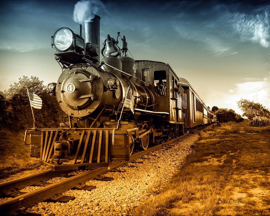 Locomotive Number 4 Photograph  - Locomotive Number 4 Fine Art Print