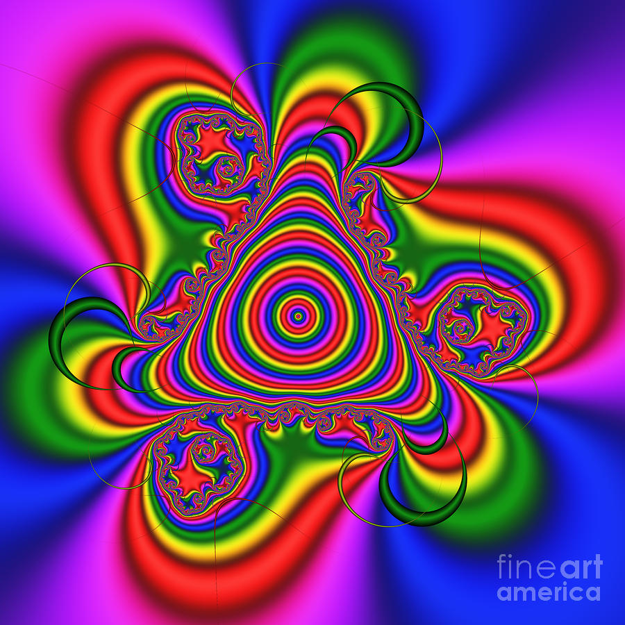 Lollypop 139 Digital Art  - Lollypop 139 Fine Art Print