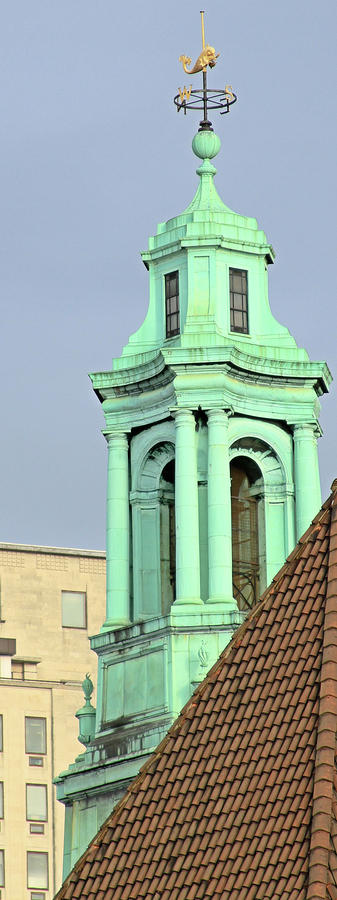 London Aquarium Steeple Photograph