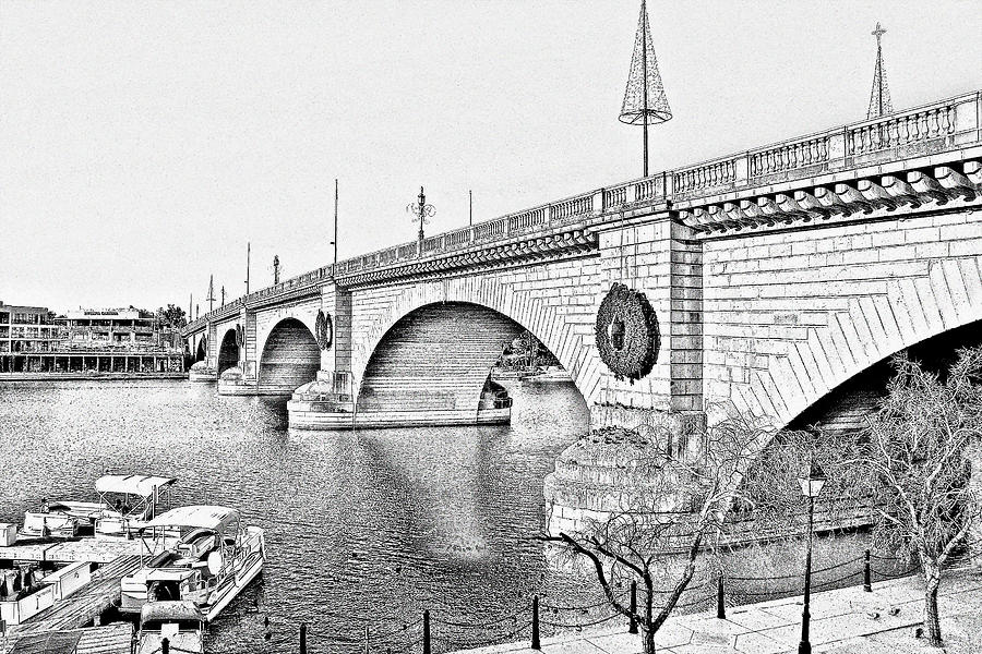 London Bridge Lake Havasu City Arizona Photograph  - London Bridge Lake Havasu City Arizona Fine Art Print