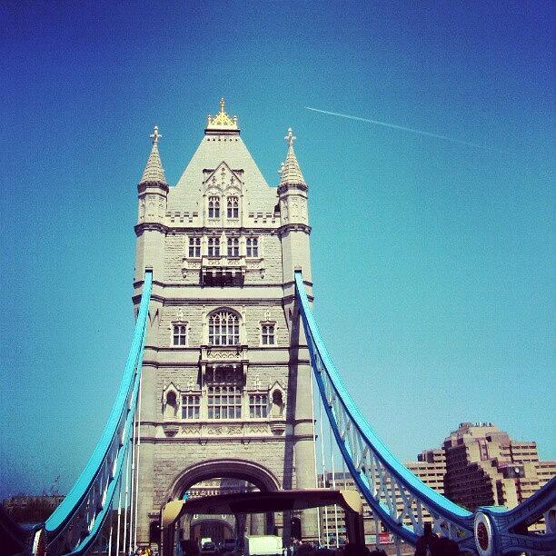 Androidcommunity Photograph - London Bridge, May - 2012 #london by Abdelrahman Alawwad