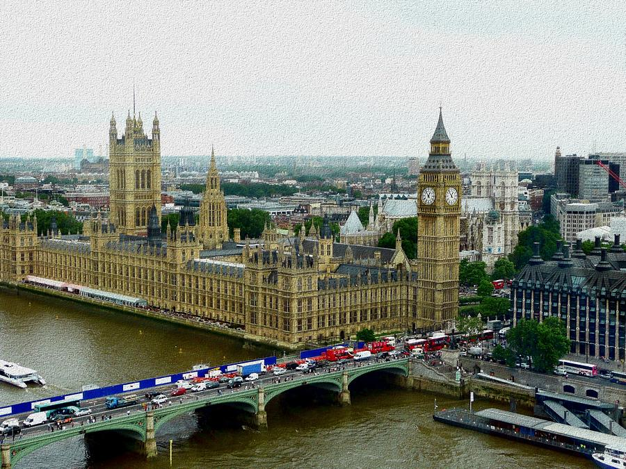 London Photograph - London by Dmytro Toptygin