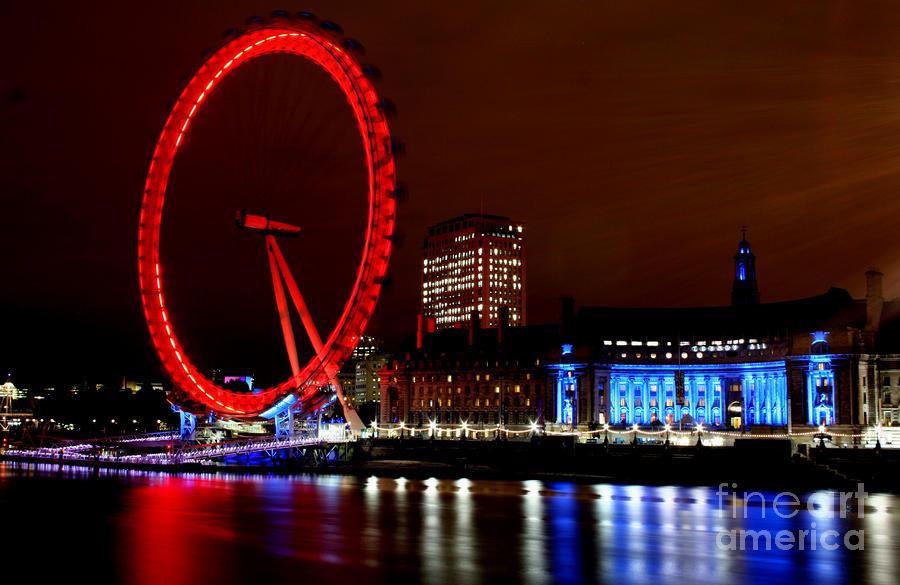 London Eye Photograph