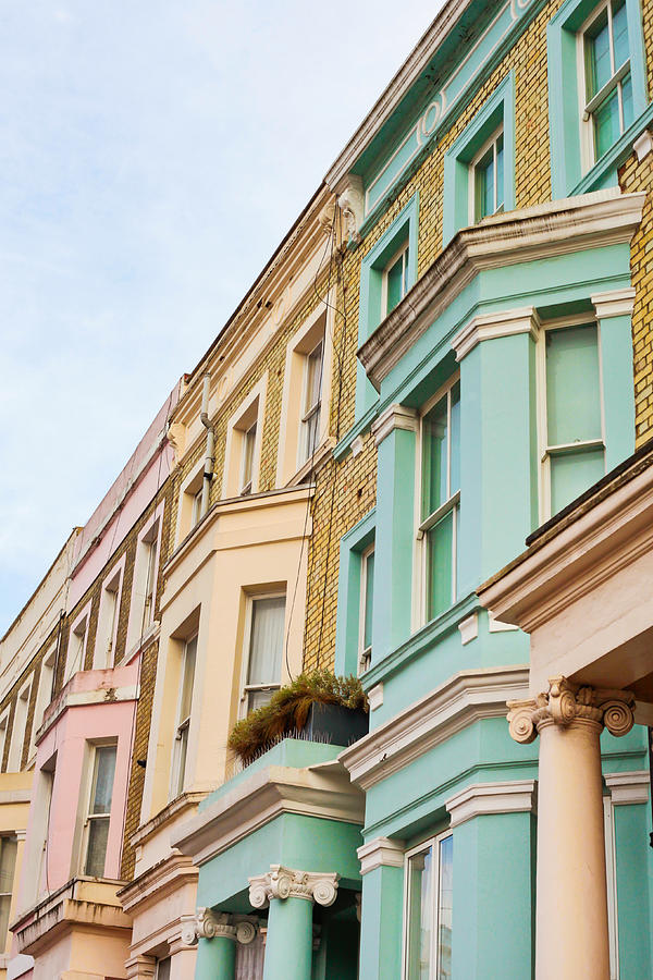 London Houses Photograph