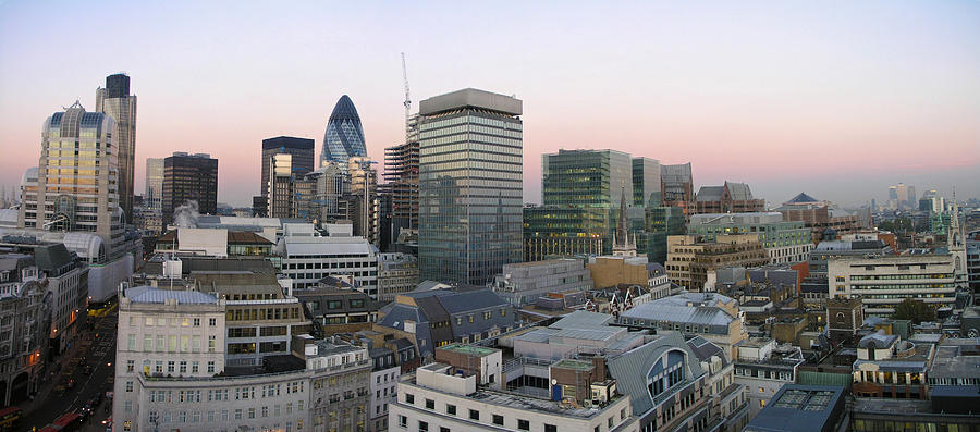 London Panorama From The Monument Photograph