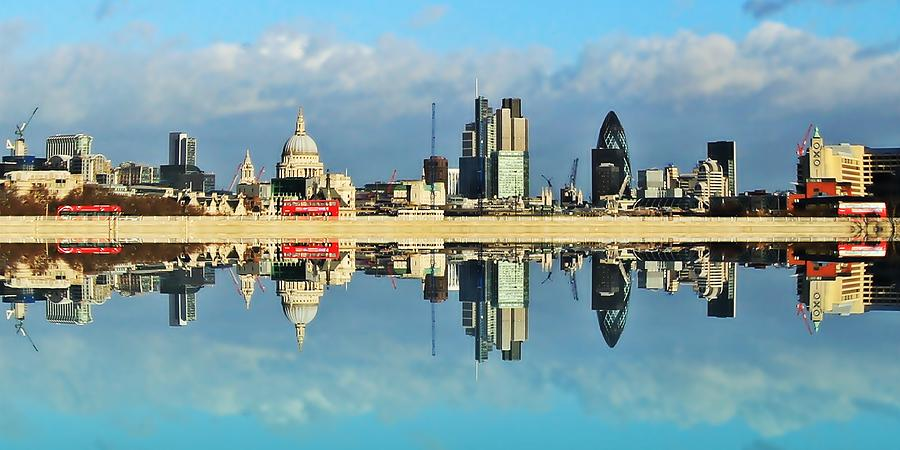 London Skyline Photograph  - London Skyline Fine Art Print