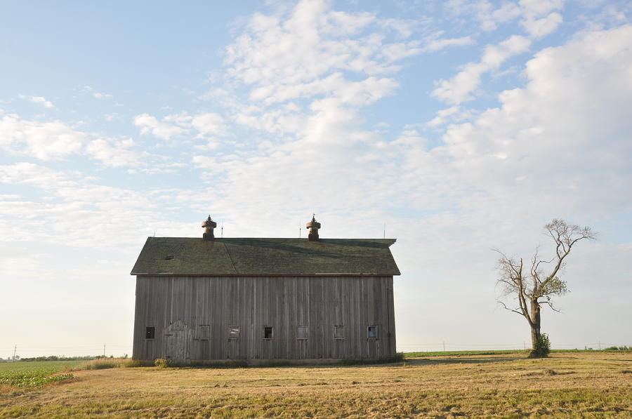 Lonely Barn Photograph