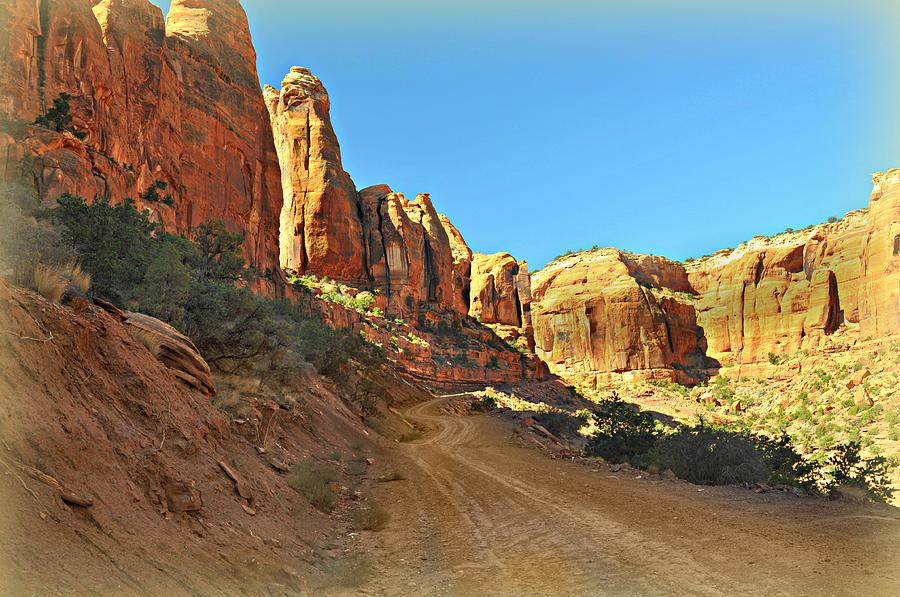 Moab Photograph - Long Canyon 1 by Marty Koch