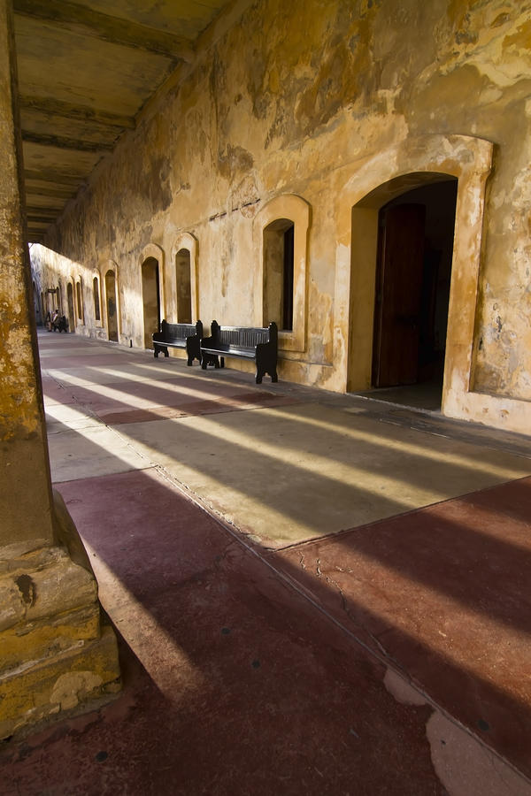 Long Shadows In San Cristobal Photograph  - Long Shadows In San Cristobal Fine Art Print