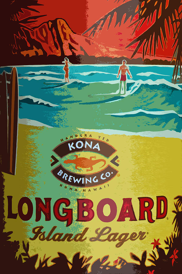 Longboard Lager Photograph  - Longboard Lager Fine Art Print
