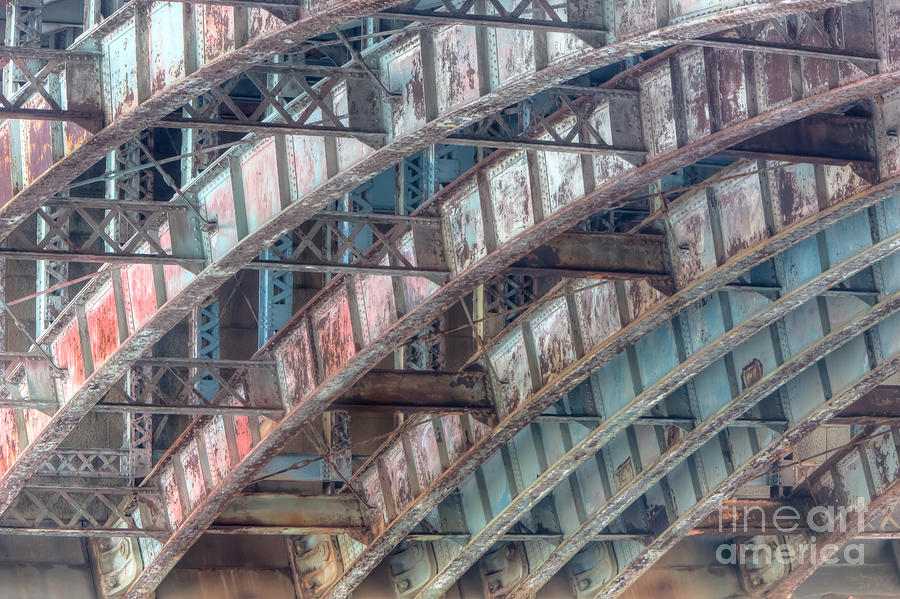 Longfellow Bridge Arches II Photograph  - Longfellow Bridge Arches II Fine Art Print