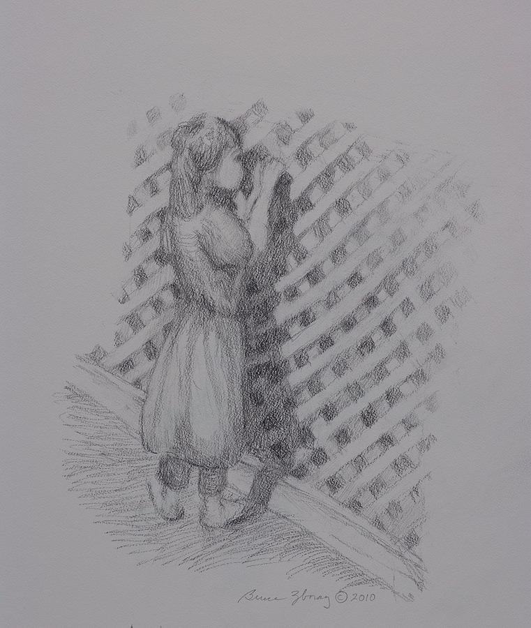 Looking Within Drawing