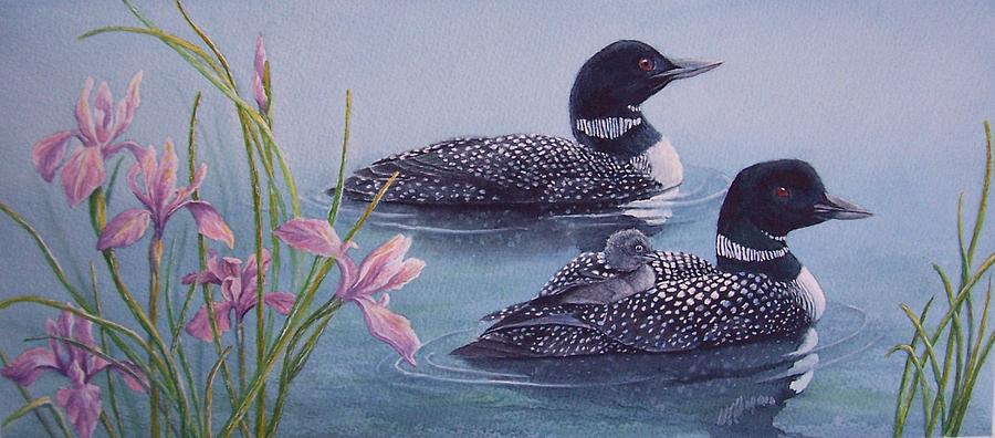 Loon painting - photo#14
