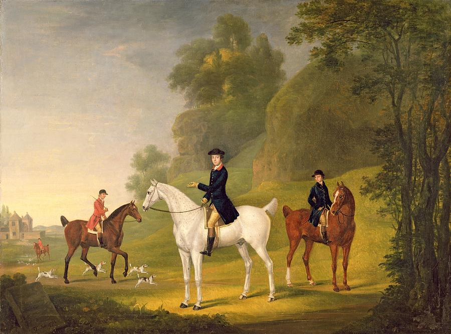 Lord Bulkeley And His Harriers Photograph