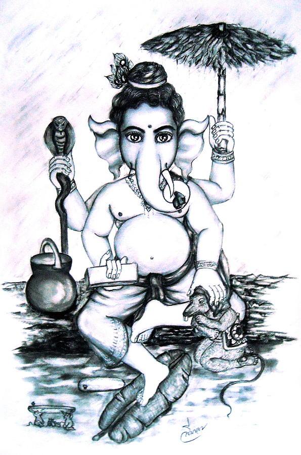 Lord Ganesha Drawing