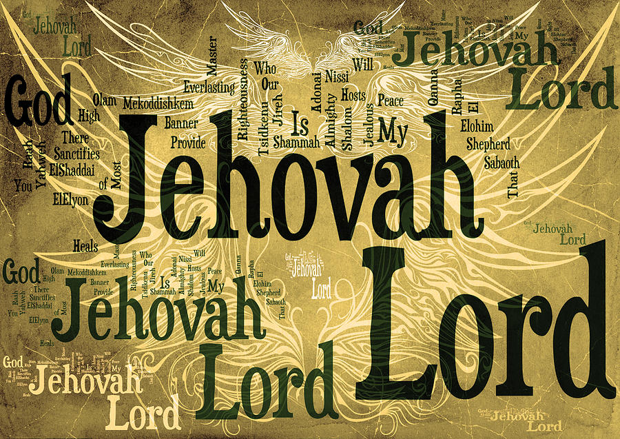 Lord Jehovah 2 Digital Art