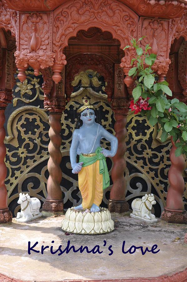 Lord Krishna Photograph