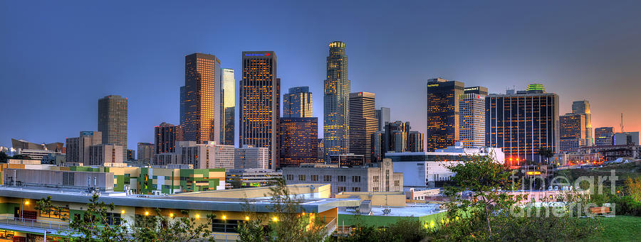 Los Angeles Skyline Photograph