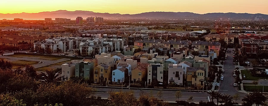 Horizontal Photograph - Los Angeles Vista by Photo taken by Phong Ho