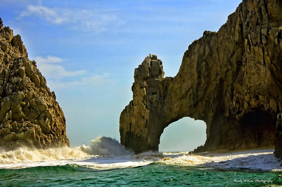 Los Arcos Waves Photograph  - Los Arcos Waves Fine Art Print