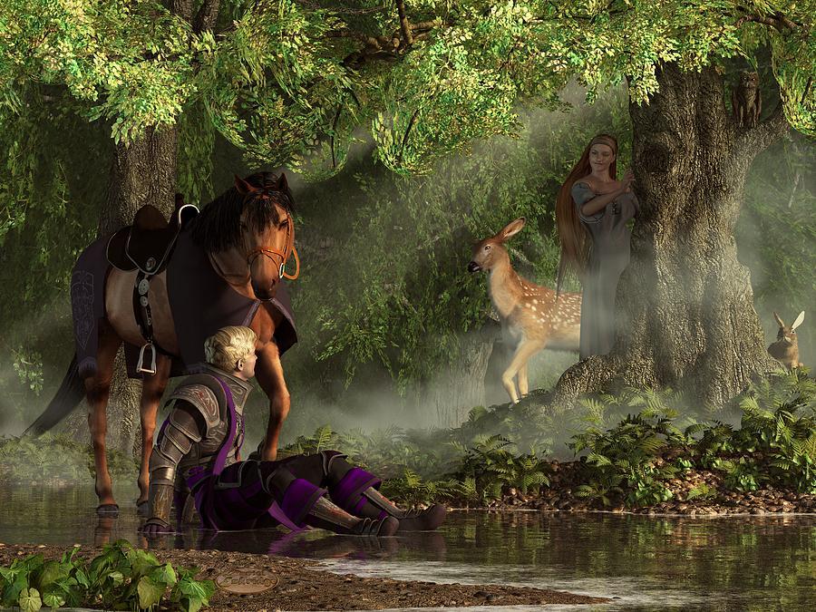 Lost In The Enchanted Forest by Daniel Eskridge