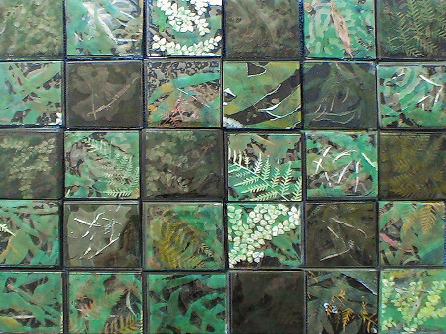 Lost Rainforest Glass Art