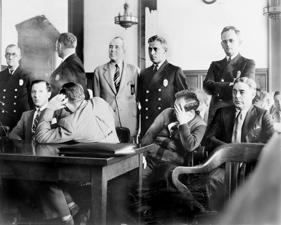Louis Buchalter At Murder Trial, Louis Photograph  - Louis Buchalter At Murder Trial, Louis Fine Art Print