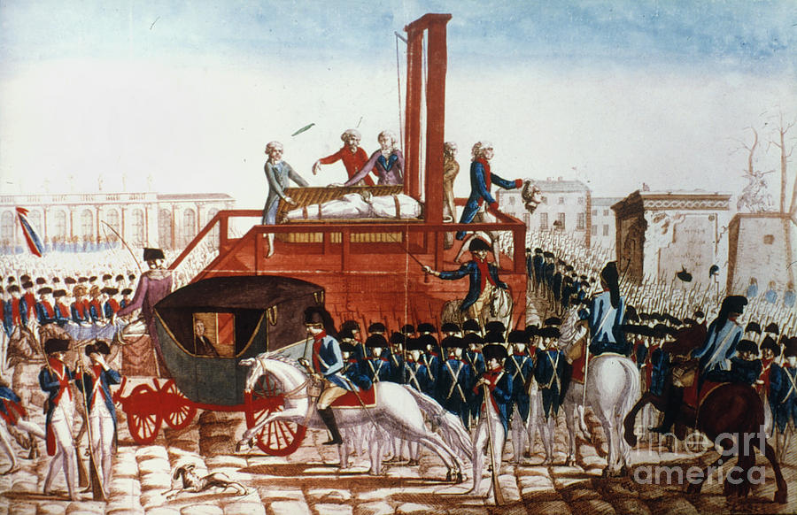 Louis Xvi: Execution Photograph