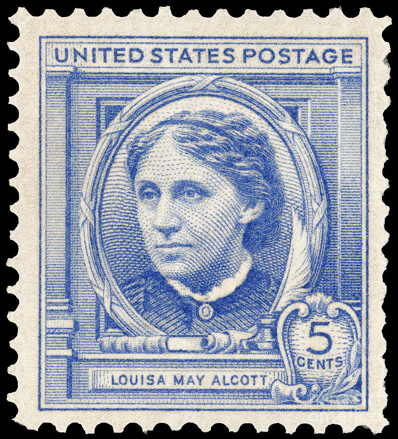 Louisa May Alcott (1832-1888) Photograph  - Louisa May Alcott (1832-1888) Fine Art Print