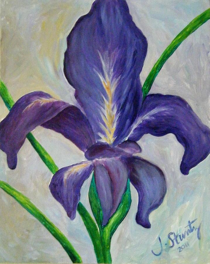 louisiana iris fleur de lis light by jessica stuntz. Black Bedroom Furniture Sets. Home Design Ideas
