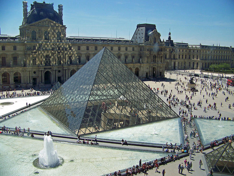 Lourve Reflections Photograph