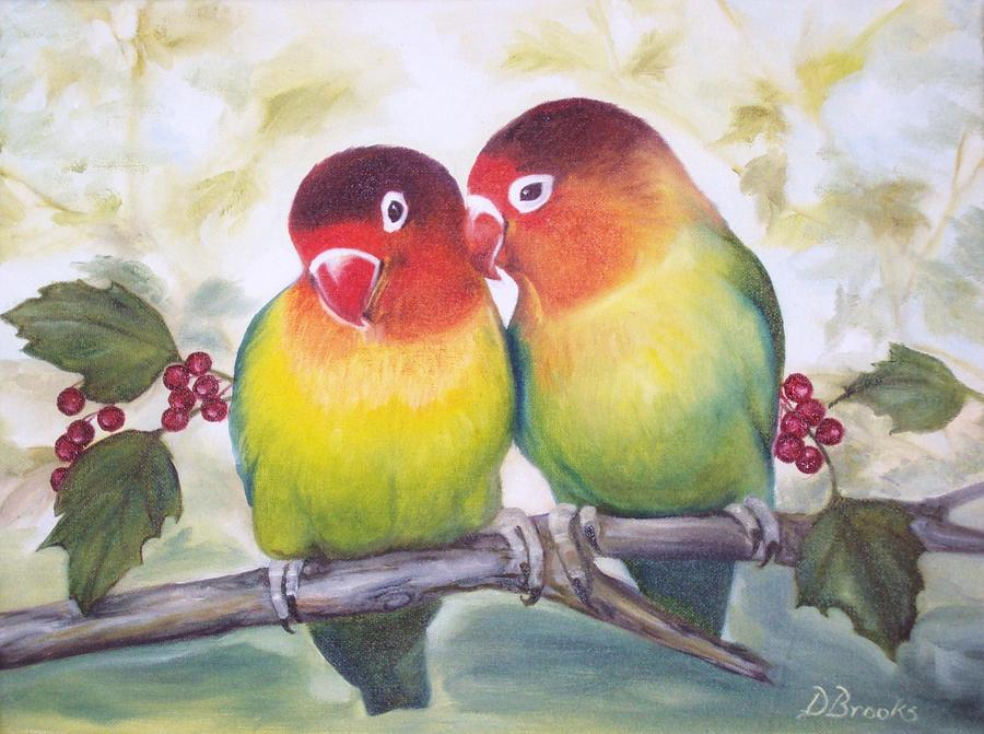 love birds by dorothy brooks