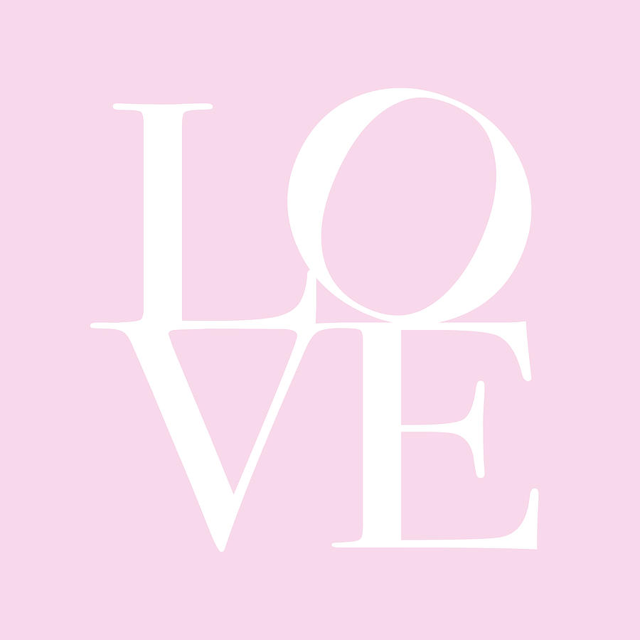 Love In Pink Digital Art
