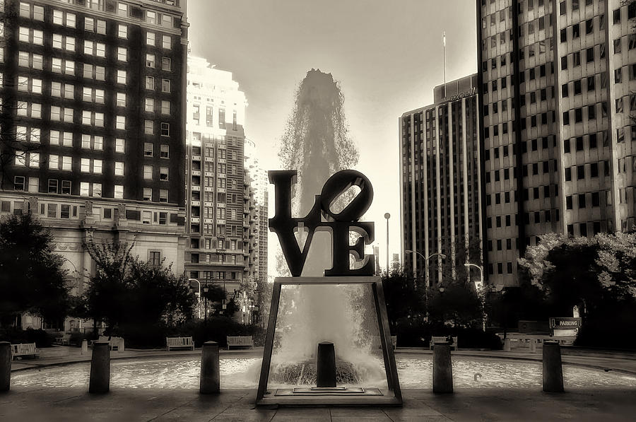 Love In Sepia Photograph