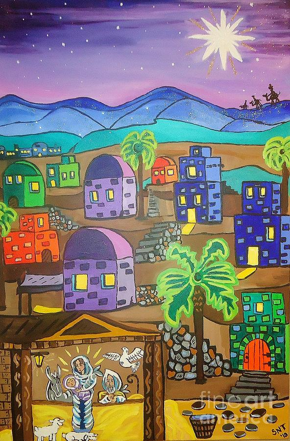 Love In The City Of David Painting
